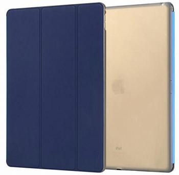 "Чехол (книжка) Rock Phantom Series для Apple iPad Pro 9,7"" (Синий / Blue) - ITMag"