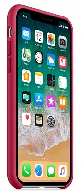 Apple iPhone X Silicone Case - Rose Red (MQT82) - ITMag