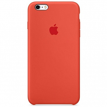 Apple iPhone 6s Silicone Case - Orange MKY62 - ITMag