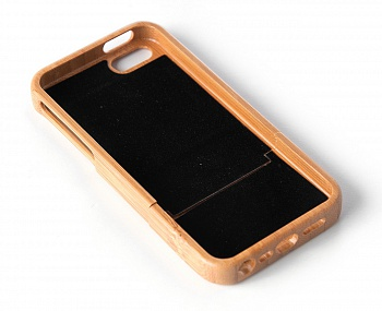 Чехол JUSNEY Bamboo Case для iPhone 5/5S Camera - ITMag