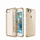 "TPU чехол ROCK Fence series для Apple iPhone 7 (4.7"") (Золотой / Transparent Gold) - ITMag"