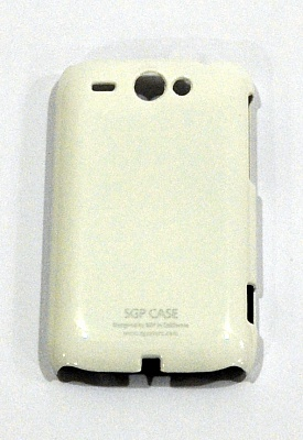 Ultraslim case for HTC wildfire white - ITMag