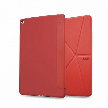 LAUT Origami Trifolio for iPad mini 4 Red (LAUT_IPM4_TF_R) - ITMag