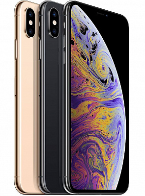 Apple iPhone XS Max Dual Sim 256GB Silver (MT752) - ITMag