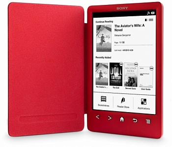 Электронная книга Sony PRS-T3 Red - ITMag