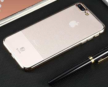 Чехол Baseus Luminary Case For iPhone 7 Gold (WIAPIPH7-MY0V) - ITMag