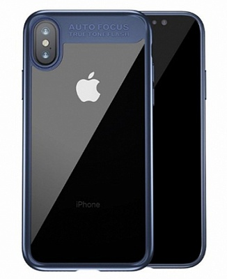 "TPU чехол Baseus Suthin Case для Apple iPhone X (5.8"") (Синий) (ARAPIPHX-SB15) - ITMag"