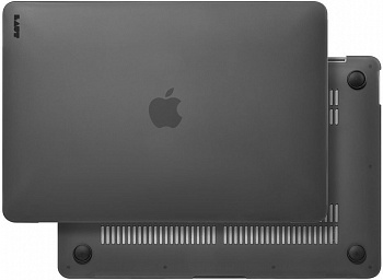 Чехол LAUT HUEX для MacBook Air 13'' 2018 Black (LAUT_13MA18_HX_BK) - ITMag