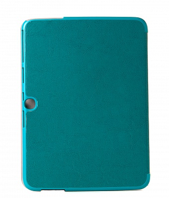 Чехол Crazy Horse Tri-fold Leather Folio Cover Stand Blue for Samsung Galaxy Tab 3 10.1 P5200/P5210 - ITMag