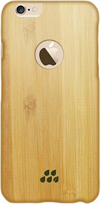 Чехол Evutec iPhone 6/6S Wood S (0,9 mm) Bamboo (AP-006-CS-W31) - ITMag