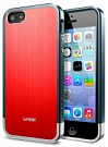 Чехол-накладка SGP Case Linear Blitz Series Metal Red for iPhone 5/5S (SGP10121) - ITMag