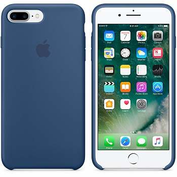 Apple iPhone 7 Plus Silicone Case - Ocean Blue MMQX2 - ITMag