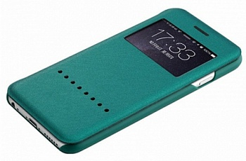 "Чехол (книжка) Rock Rapid Series для Apple iPhone 6/6S (4.7"") (Бирюзовый / Peacock blue) - ITMag"