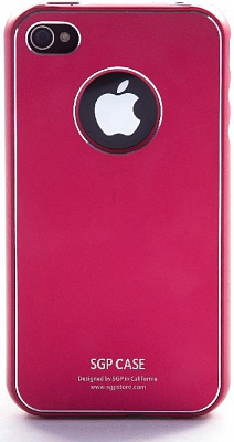 SGP iPhone 4 Case Ultra Thin Vivid Series (Dante Red) - ITMag