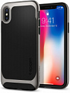 Spigen Case Neo Hybrid for iPhone X Gunmetal (057CS22165) - ITMag