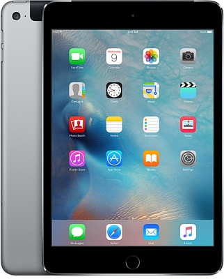 Apple iPad mini 4 Wi-Fi + Cellular 16GB Space Gray (MK862) UA UCRF - ITMag
