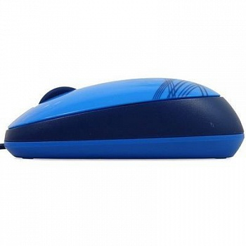 Logitech M105 Corded Optical Mouse (Blue) - ITMag