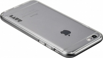 Бампер LAUT EXO-FRAME Aluminium bampers для iPhone 6 Plus/6S Plus - Gray (LAUT_IP6P_EX_GM) - ITMag