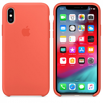 Apple iPhone XS Max Silicone Case - Nectarine (MTFF2) - ITMag