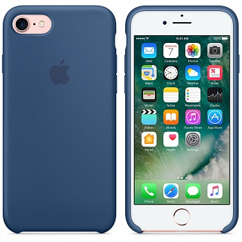 Apple iPhone 7 Silicone Case - Ocean Blue MMWW2 - ITMag