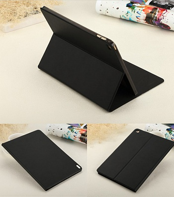 Чехол USAMS Geek Series for iPad Air 2 Magnetic Stand Smart Leather Cover - Black - ITMag