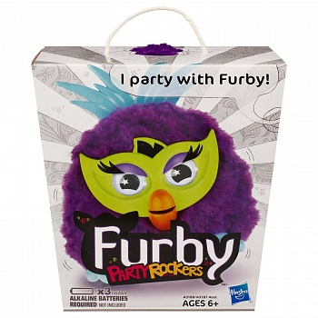 Игрушка Furby Party Rockers Creature (Purple) - ITMag