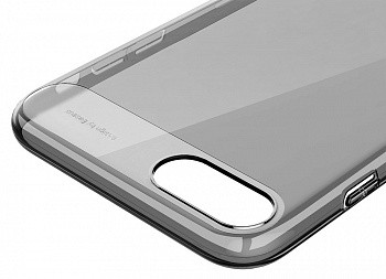 Чехол Baseus Sky Case For iPhone7 Transparent Black (WIAPIPH7-SP01) - ITMag