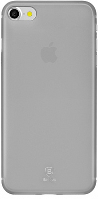 Чехол Baseus Slim Case For iphone7 Transparent Black (WIAPIPH7-CT01) - ITMag