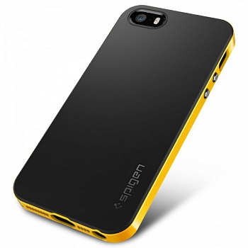 Чехол SGP iPhone 5S/5 Case Neo Hybrid Reventon Yellow - ITMag