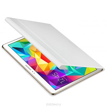 Чехол Samsung Book Cover для Galaxy Tab S 10.5 T800/T805 Dazzling White - ITMag