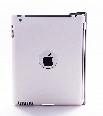 Ультратонкая накладка SGP iPad 2 Leather Case Griff Series White - ITMag