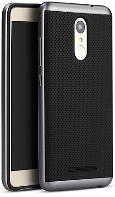 Чехол iPaky PC+TPU для Xiaomi Redmi Note 3 / Redmi Note 3 Pro (Grey Frame) - ITMag
