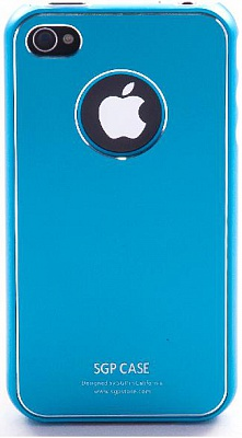 SGP iPhone 4 Case Ultra Thin Pastel Series (Tender Blue) - ITMag