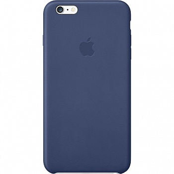 Apple iPhone 6 Plus Leather Case - Midnight Blue MGQV2 - ITMag