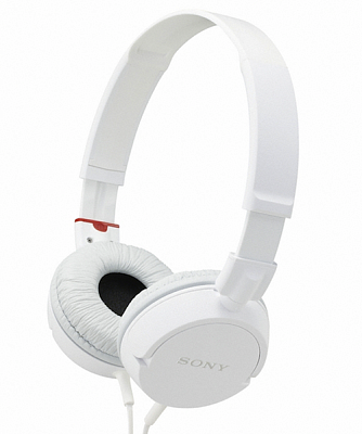 Наушники SONY MDR-ZX100 White - ITMag