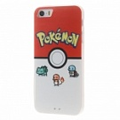 Пластиковая накладка EGGO Pokemon Go для iPhone 5/5S/SE (Pokeball and Pocket Monsters) - ITMag