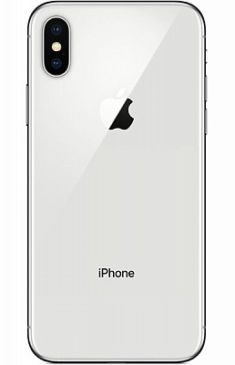 Apple iPhone X 256GB Silver (MQAG2) (Витринный) - ITMag