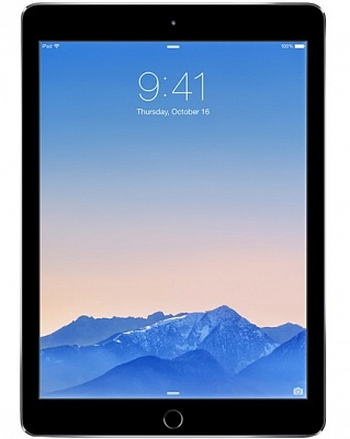 Apple iPad Air 2 Wi-Fi + LTE 64GB Space Gray (MH2M2, MGHX2) (Apple Certified Refurbished) - ITMag