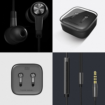 Xiaomi Piston v3 Black - ITMag