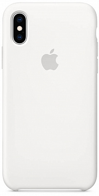 Apple iPhone XS Max Silicone Case - White (MRWF2) - ITMag