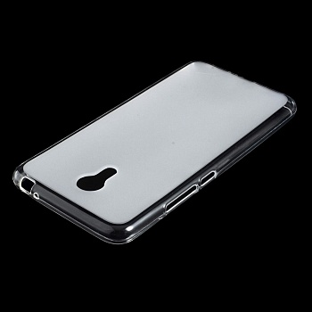 TPU чехол EGGO для Meizu M3 Note (Transparent/Матовый) - ITMag