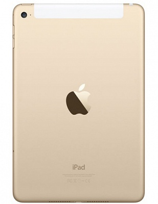 Apple iPad mini 4 Wi-Fi + Cellular 128GB Gold (MK8F2, MK782) UA UCRF - ITMag