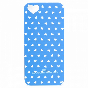 Чехол ARU для iPhone 5S Hearts Blue - ITMag