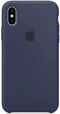 Apple iPhone X Silicone Case - Midnight Blue (MQT32) - ITMag