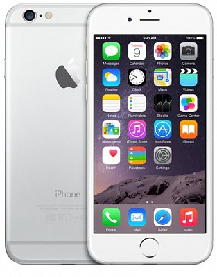 Apple iPhone 6 64GB Silver (Factory Refurbished) - ITMag