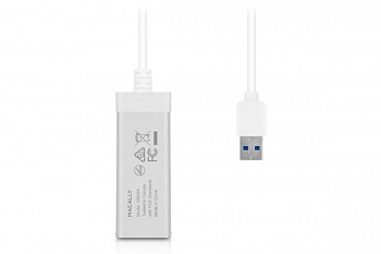 Адаптер Macally USB 3.0 to Gigabit Ethernet-AL (U3GBA) - ITMag