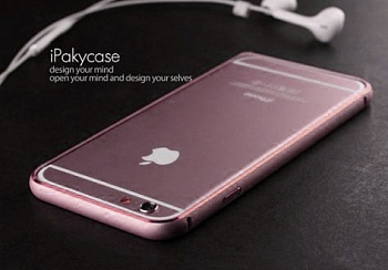 "Чехол iPaky Metal Joint Series для Apple iPhone 6/6s (4.7"") (Rose Gold) - ITMag"