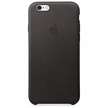 Apple iPhone 6s Leather Case - Black MKXW2 - ITMag