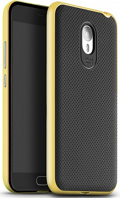 Чехол iPaky PC+TPU для Meizu M2 Note (Yellow Frame) - ITMag