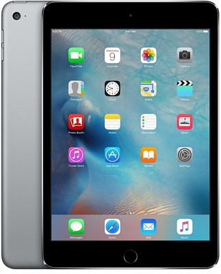 Apple iPad mini 4 Wi-Fi 128GB Space Gray (MK9N2) UA UCRF - ITMag